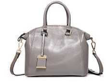 The new 2015 tide lady handbags handbags inclined shoulder bag head layer cowhide tote bag bag