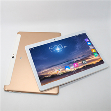 10.1 inch Android 6.0 Tablet PC MTK6582 1280*800 IPS HD Screen Quad Core 3G GSM WCDMA Phone call PC 16G ROM 1G RAM Metal shell