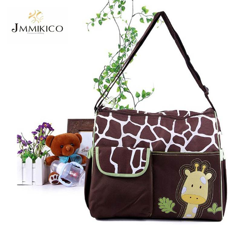 2016 Summer Style Animal Baby Diaper Bag Mummy Nappy Zebra Or Giraffe Babyboom Multifunctional Fashion Infanticipate Shoulder<br><br>Aliexpress