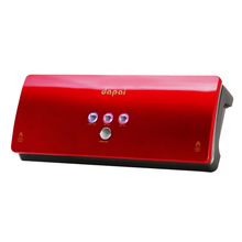 dapai New Automatic Electric food vacuum sealer machine and give as a present 20pcs vacuum bags Red 110-240V