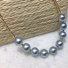 MYDEAR White Color High LusterJapanese Akoya Pearl Necklace for Wedding Jewelry Wholesale(China)