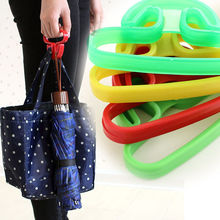 2Pcs High Strength Mixed Color Shopping Grocery Bag Holder Handle Carrier Creative Bag Carrier Household Goods Trip Grips(China)