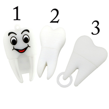 usb flash drive new hot pendrive dentist teeth pendrive 32GB 16GB 8GB 4GB 2GB cartoon tooth models usb 2.0 64gb Pen drive