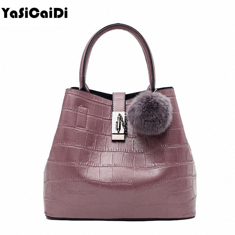 Fashion Crocodile Patte PU Leather Womens Shoulder Bag Famous Designer Luxury Black Fur Bag Ladies Handbags Sac A Main Bolsos<br><br>Aliexpress