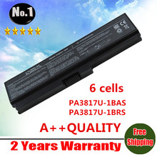Wholesale  New 6 cells Laptop Battery For Toshiba Satellite L700 L730 L750 C600D A600 A655 series  PA3817U-1BAS  PA3817U-1BRS