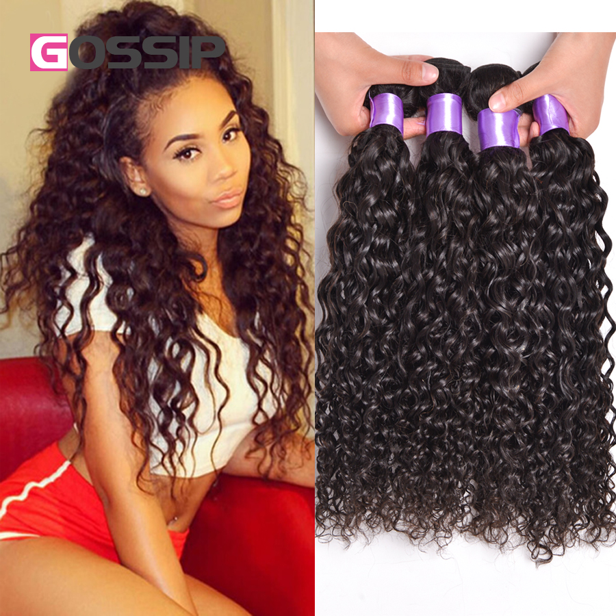 4 Bundles Brazilian Virgin Hair Water Wave Wet And Wavy Virgin Brazilian Hair Water Wave Virgin Hair Curly Human Hair Bundles<br><br>Aliexpress