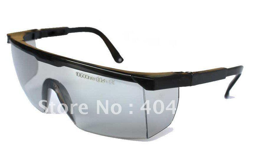 co2 Laser safety glasses for 10600nm Co2 laser , CE O.D 4+ VLT&gt;65%<br>