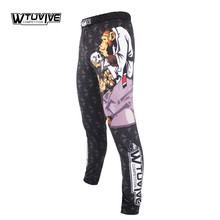 WTUVIVE MMA boxing sports fitness personality breathable loose large size shorts Thai fist pants running fights sanda pretorian