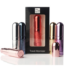 Hot Sale 1 Piece 5 ml Refillable Portable Mini perfume bottle &Traveler Aluminum Spray Atomizer Empty Parfum bottle