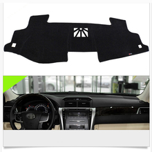 Interior Dashboard Carpet Photophobism Protective Pad Mat For Toyota Camry 7th 2012-2015