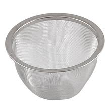 FJS! Teapot 80mm Diameter Metal Mesh Tea Leaves Spice Strainer Basket