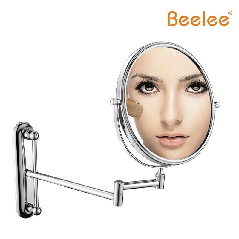 Beelee  mirror Spiegel Wandmontage 360 Graden Rotatie Van Professionele Make Spiegel 6/8 inch 3X5X7X Vergroting Make Spiegel <br>