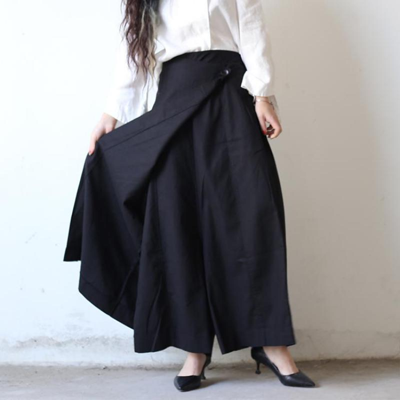 Z-ZOUX Women Pants Cotton Linen Pants Loose Wide Leg Pants All Match Casual Long Trousers Womens Linen Trousers Skirt Trousers