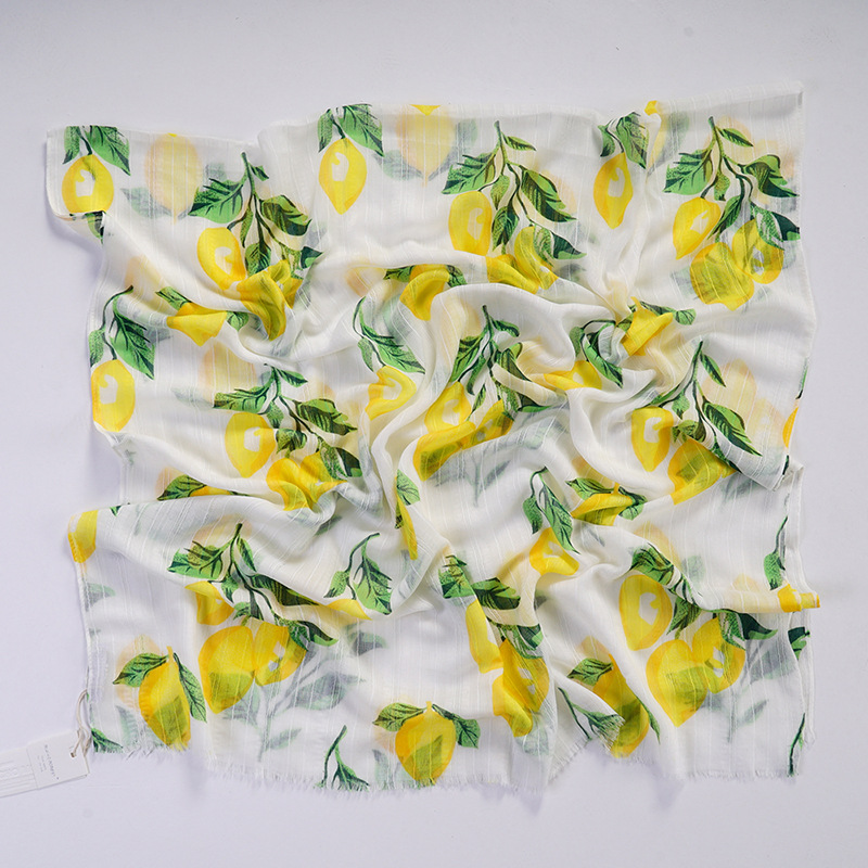 Oranges//Lemons Wacky Scarf