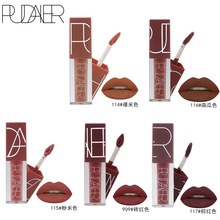 PUDAIER Brand Velvet Lips Makeup Long Lasting Lip Tattoo Tint Pigment Brown Nude Matte Lipstick Liquid Cosmetic