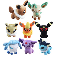 pikachu Plush Toy  12cm  Eevee XY toys 8 styles Umbreon Doll For Kid baby birthday gifts Anime Soft
