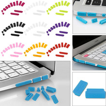 "12Pcs/Set Soft Silicone Anti Dust Plug For Macbook Air 13"" 11"" 15"" Pro Retina Laptop Rubber Dustproof Cover Stopper"