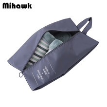 Mihawk Waterproof Shoes Bags Travel Make Up Clothing Baggage Zipper Bag Closet Underwear Shoes Sorting Pouch Accessory Products(China)