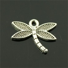 Buy 15pcs Dragonfly Pendant Charms Jewelry Making Antique Bronze Antique Silver Dragonfly Charms Charm Dragonfly 18x14mm for $1.19 in AliExpress store