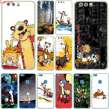 Lavaza The Complete Calvin and Hobbes Hard Case Cover for Huawei P10 P9 Lite Plus P8 Lite G7 & Honor 8 Lite 7 4C 4X