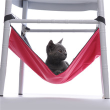 Pet Hammock Oxford Rat Summer / Winter Waterproof Cat Hammock Soft Cat Bed Small Animal Pet Products Rest Cat House Mat(China)