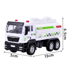 2017 Red White Boy's Toy Cars 1:55 Racing Shop Truck Model Toy Car Carrier Vehicle Boy Birthday Present Brinquedo Menino(China)