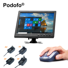 "Podofo Car Headrest Monitor 10.1"" TFT LCD VGA / HDMI / AV / USB / SD Port Compatible Input with Screen PC / DVD Player(China)"
