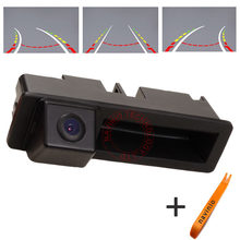 CCD track Camera Directive Parking Assistance Reversing Trajectory For Audi A4 A3 Q7 A6L Car Back Up  Rear View waterproof HD
