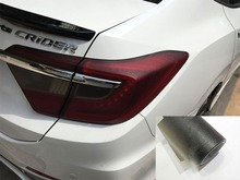 Hot Sales ! 30cm x 200cm Auto Car Light Headlight Taillight Tint Vinyl Film Sticker  Easy To Stick The Whole Car