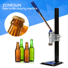 Beer Bottle Capping Machine Manual Beer Lid Sealing Capper Beer Capper Soft Drink Capping Machine Soda Water Capper(China)