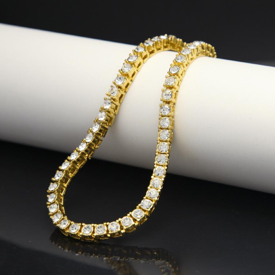 Diamond Gold Tennis Bracelet (7)
