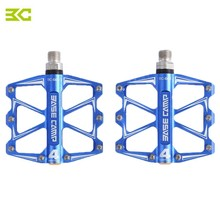 BaseCamp BC - 688 Paired Aluminum Alloy Bike Pedal Anti-slip Mountain Fixed Gear Treadle with 4 Ball Bearing Bicycle Accessories