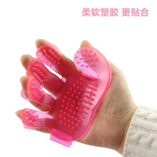 Direct manufacturers special offer pet cleaning supplies Wuzhi bath pet brush brush palm spot wholesale