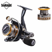 SeaKnight SS 1Spinning Reel 10+1BB Ultralight Carbon Fiber Fishing Wheel Anti-Corrosive Saltwater Tackle For Fishing+Spare Spool