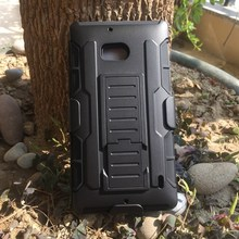 N930 Silm Future Armor Robot Combo Impact Rugged Cover Case For Nokia Lumia 930 Full Body Belt Clip Holster 3 IN 1 Phone Case(China)