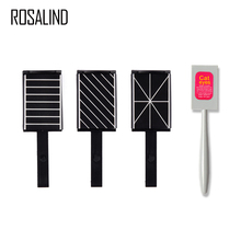 ROSALIND 1PCS Magnet Stick Cat Eye Strong for cat eye Gel Polish Varnish Tips Builder Nail Art 3D Magnetic Design Pro Manicure