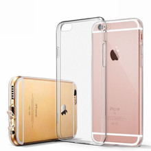 For Capa iPhone 6 Clear Case Super Slim Bumper Capinha Transparent Case With Anti Dust Plugs Flexible For housse iPhone 6 And 6s