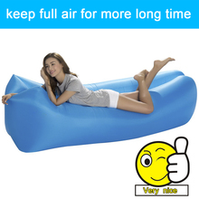 Inflatable Air Sofa Over 200KG Sleeping Laybag Pillow travesseiro Bed Lazy Bag Air Chair Inflable nylon air lounger