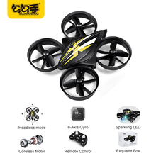GouGouShou CX-95 Mini Drone RC Drone Quadcopters Headless Mode One Key Return RC Helicopter VS JJRC H36 Kids Best Toys For Boys(China)