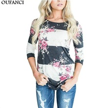 Buy OUFANCI T Shirt Women Clothes 2017 Print Tshirt Long Sleeve Tops Womens Clothing T-Shirts Casual Tee Shirt Femme Poleras Mujer for $11.68 in AliExpress store
