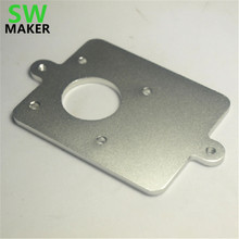SWMAKER Ultimaker 2 Extended extruder aluminum metal conversion mount plate for Ultimaker 2 3D printer parts