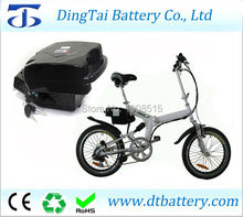 Little frog type electric bike seat battery 24V 17.4Ah Lithium ion INR18650 ebike battery pack akku with BMS(China)