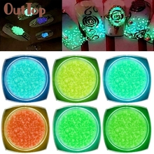 Levert Dropship 6Colors Series of Fluorescent Neon Luminous Gel Nail Decoration for Glow in Dark 0325B