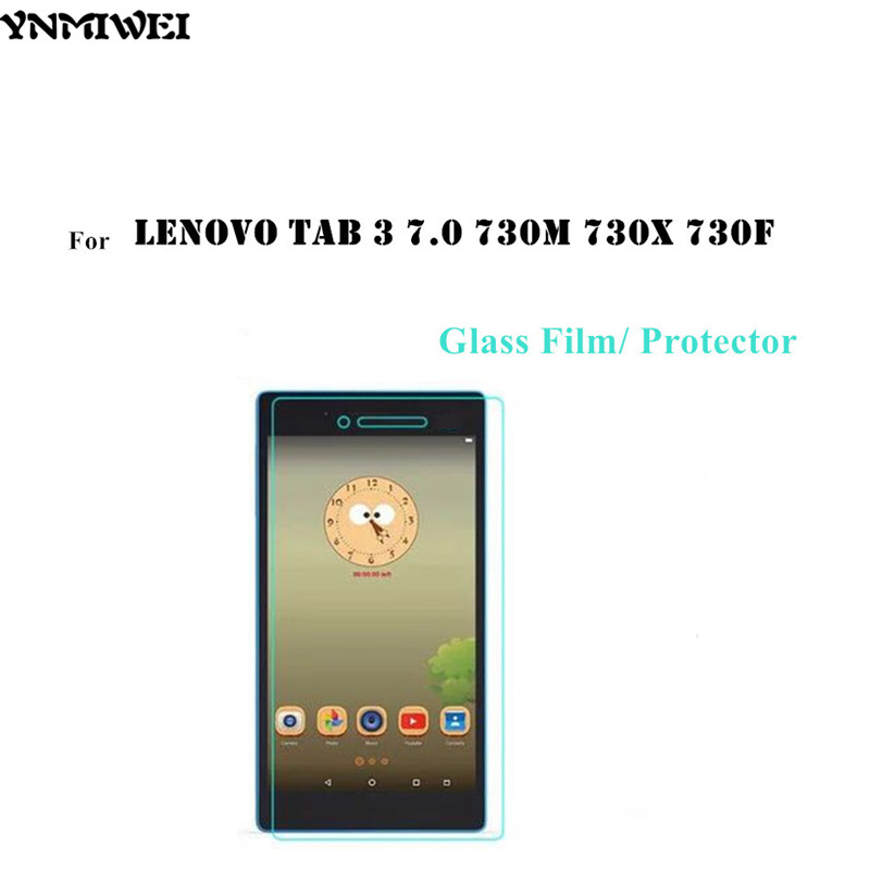 Tab3 7.0 730F Glass Flim Lenovo Tab 3 7.0 730M 730X 730F Tempered Glass Screen Protector 0.3mm High Clear Anti Scract