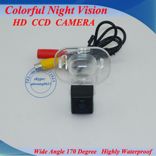 For KIA FORTE /Hyundai Verna sedan Professional manufacture!!! CCD car rear camera 100%waterproof, color nightvision