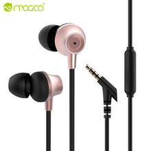 MOGCO In-Ear Earphone Heavy Bass Sound Stereo Earbuds Wired Headset Phone Earpiece Earphone For Xiaomi Sony MP3 MP4 Earphones(China)