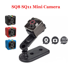 Newest SQ8 SQ11 HD 1080P Camera Mini Infrared Night Vision HD Sport Micro Cam Motion Detection Camcorder DV Video voice Recorder(China)