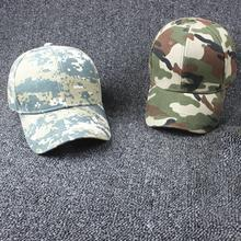 Men Women Adjustable Military Hunting Fishing Hat Army Baseball Head Cover Wearing Outdoor Cap Popular Trend Hats Drop Shipping(China)
