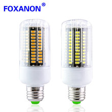 1Pcs E27 E14 LED Corn Bulb Real Full Watt 3W 5W 7W 9W 12W 15W SMD 5736 LED lamp 85V-265V spot light Candle Downlight Lighting