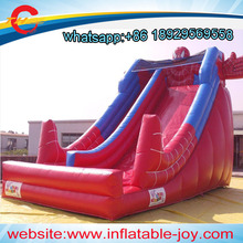 free air shipping to door,commercial spiderman giant inflatable slide dry sliding toys for kids(China)